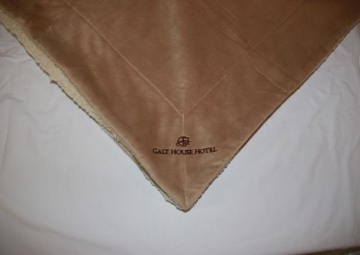 GH Indirect Embroidery on blanket