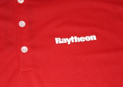 Raytheon on Polo - Close Up